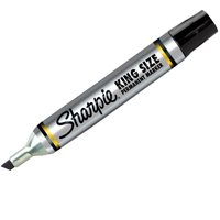 KING SIZE BLACK CHISEL MARKER