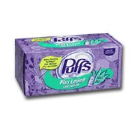 PUFFS PLUS FACIAL TISSUE 124CT