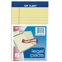 "5""X8"" YELLOW LEGAL PAD"