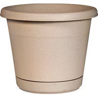 "12""ROLLED RIM PLANTER&SAUCER S"