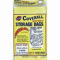 40X72 COVERALL STORAGE BAG