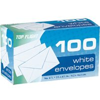 "6-3/4"" PLAIN ENVELOPES"