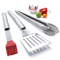 3 PC. STAINLESS TOOL SET