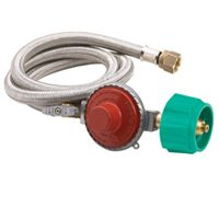 STAINLESS 10PSI HOSE/REGULATOR